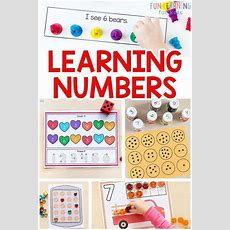 Best 25+ Preschool Number Activities Ideas On Pinterest  Counting, Kids Learning Activities And