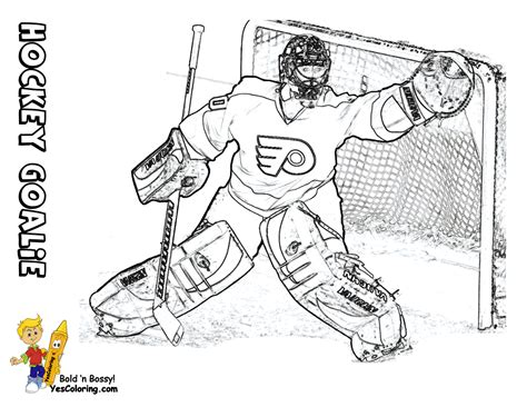 hat trick hockey coloring sheets  hockey players