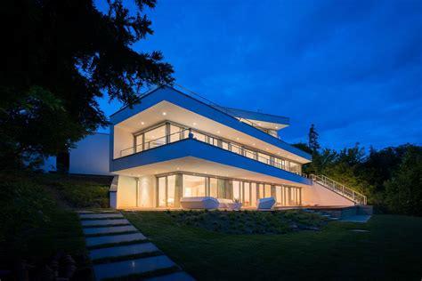 Moderne Haeuser Bauen Architektur Baustoffe Technik by Modernes Architektenhaus Pforzheim Bauen Architektur