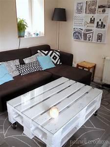 Table Basse Palettes : notre nouvelle table basse en palettes astuces recup ~ Melissatoandfro.com Idées de Décoration