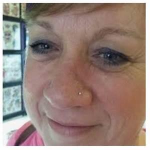Nose Piercing On Older Woman Nose Piercing Piercings