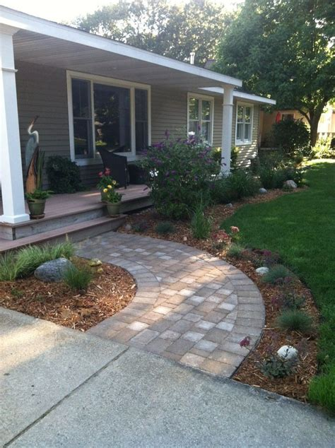 front yard paver designs 64 best images about walkway ideas on pinterest walkways paving stones and landscapes