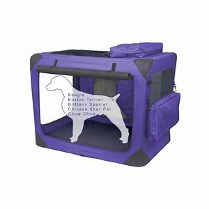 fabric dog crate With collapsible fabric dog crate
