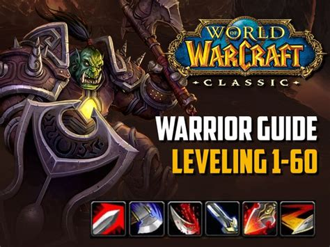 rogue leveling guide wow classic warrior spec vanilla