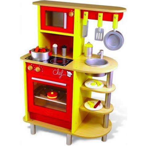 grande cuisine en bois vilac jouet cuisine du chef