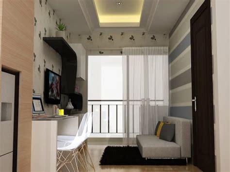 desain interior apartemen saveria youtube
