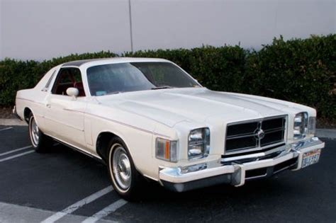 1979 Chrysler 300 For Sale by Purchase Used 1979 Chrysler 300 All Original
