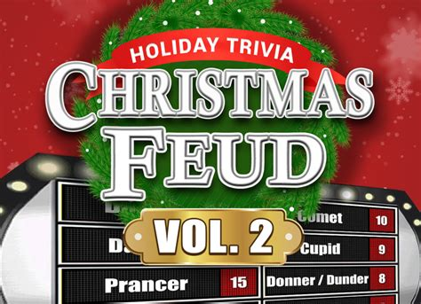 Match your wits against the entire world. Christmas Family Feud Trivia Powerpoint Game - Mac and PC Compatible - Youth DownloadsYouth ...