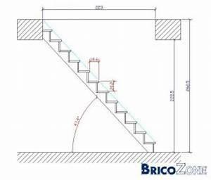 Comment calculer l'angle d'un escalier