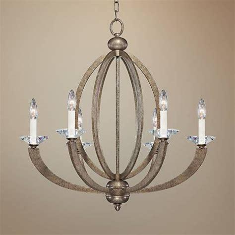 wide chandelier savoy house rosendal 30 quot wide linear silver chandelier