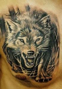 Loup Tatouage Signification : tatouage loup tribal signification ~ Dallasstarsshop.com Idées de Décoration