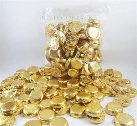 lagie golden coin koin  gr coklat kiloan