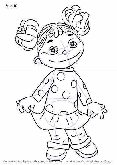 Kid Science Sid Coloring Draw Gabriela Step
