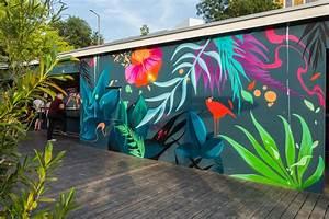 Graffiti, Wall, Art, Food, Wall, Art, Mural, Wall, Art, Graffiti