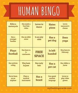human bingo icebreaker ma With human bingo template