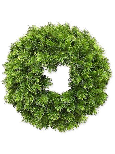 glacier pine wreath 70cm garlands wreaths tinsel