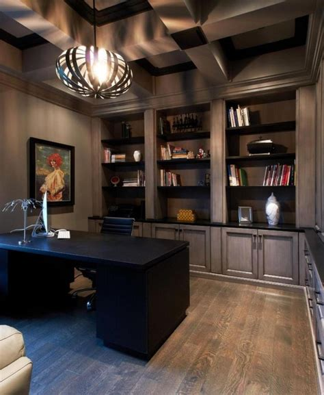 11 Cool Home Office Ideas For Men  Office  Home Office