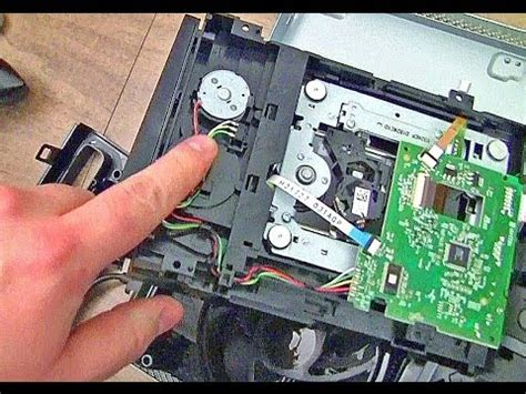 Xbox 360 Slim Repair  Disc Drive Tray Stuck Funnycattv