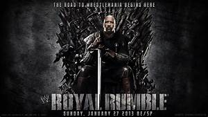 WWE Royal Rumble 2013 Wallpaper The Rock by ToHeavenOrHell ...