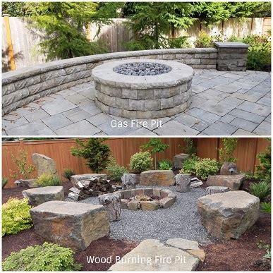 built in pits gas and wood burning built in fire pits sublime garden design landscape design landscape