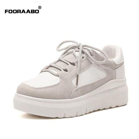 fooraabo 2017 korean original breathable s casual shoes summer classic platform