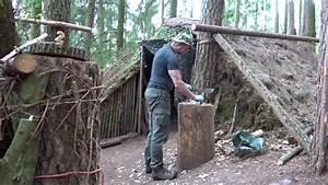 Hütte Im Wald Bauen : lagerbau bushcraft wald camp dach ffnung ber erdofen geschlossen youtube ~ A.2002-acura-tl-radio.info Haus und Dekorationen