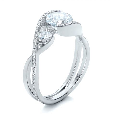 custom wrap engagement ring 101472 seattle