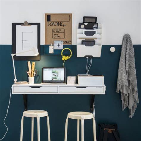 porte revue bureau 10 idées pour un coin bureau stimulant vert canard