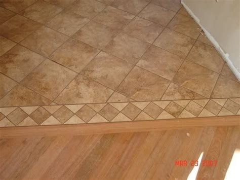 tile and 3 4 quot hardwood transition gap flooring