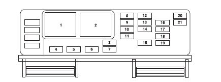 2009 Ford Mustang Fuse Box Diagram by Need A Fuse Box Diagram For An 05 Mustang Took Cover
