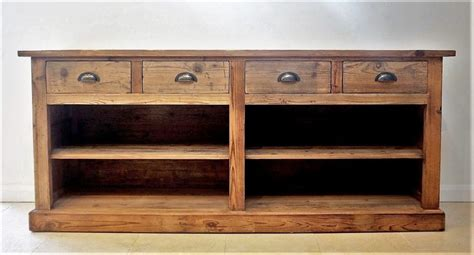 Wooden Sideboard Uk by Large Rustic Sideboard Reclaimed Wood Cambrewood
