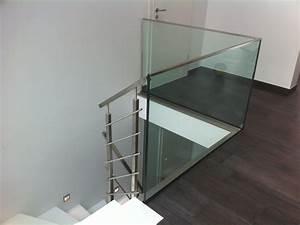Treppengeländer Mit Glas : ganzglasgel nder in kombination mit einem edelstahl treppengel nder metallbau bochum wattenscheid ~ Markanthonyermac.com Haus und Dekorationen