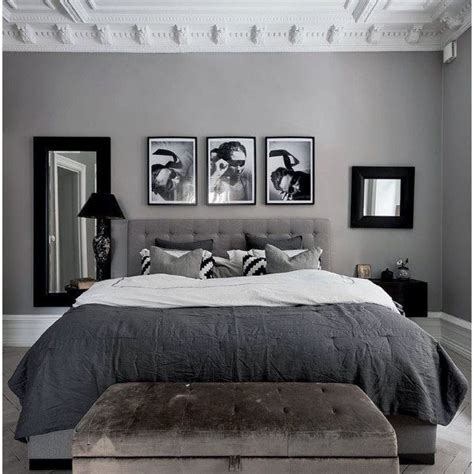 Gray And Black Bedroom by Top 60 Best Grey Bedroom Ideas Neutral Interior Designs