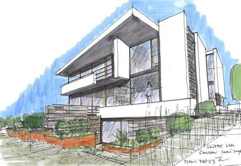 Haus Skizze Einfach by Architektur Haus Zeichnen Wohn Design