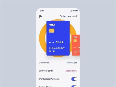credit card app creditcard credit card animation