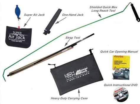 car door unlock kit amazing easy car door opening kit lockout access tools ebay