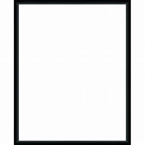 Cadre Marie Louise : cadre aluminium noir avec plexiglas et dos sur cadre ~ Melissatoandfro.com Idées de Décoration