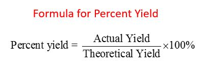 Percent Yield & Percent Purity (solutions, Examples, Videos