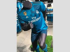 Blue Real Madrid Jersey 201718 New Real Third Kit 2017