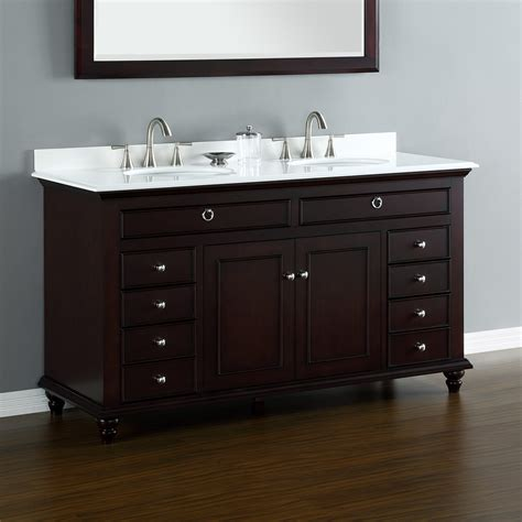 """Mayfield 60"""" Double Sink Vanity  Mission Hills Furniture. Premium Mosaics. Ikea Frames. Classic Design. Storage Bench Seat. Tuscan Iron Entries. Bathroom Vanities With Sitting Area. Privacy Screens. Lowes Range Hoods"""