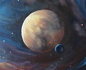 The Unknown Planet Painting - Liz W Fine Art Gallery