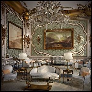 rococo brannonidh1830 With ornate interior design decoration