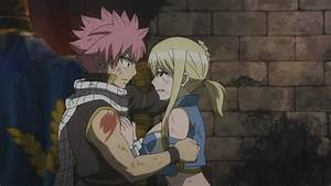 NaLu Moment Natsu Hugs Lucy (Warning Movie Spoilers) - YouTube
