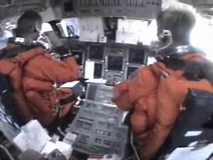 Full Cockpit Re-entry & landing + Crew Audio ♦ Space ...