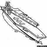 Carrier Aircraft Coloring Pages Nimitz Navy Uss Ship Colouring Sketch Submarine Boat Class Battleship Cas Sketches Sheets Template Printable Ships sketch template
