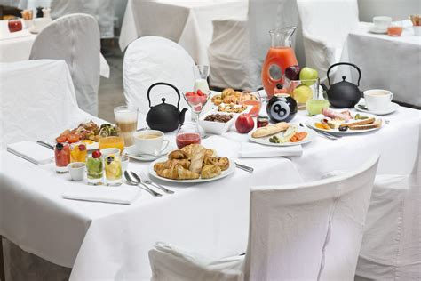 la carte du petit déjeuner la table du huit