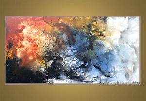 Modern Abstract Art Oil Painting Canvas - Tierra Este | #50536