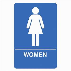 palmer fixture is1003 1 b ada compliant women restroom With women only bathroom sign