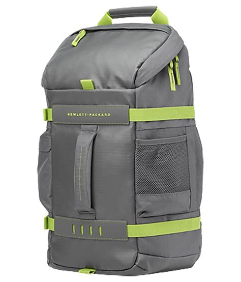 Grey Green Donini Bag grey green laptop bag pack manufactured for hp laptops