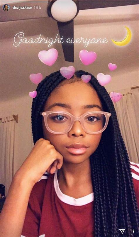 skaijackson baddie   black girl braids braids